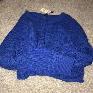Express Long Sleeve Crop sweater